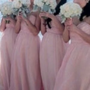 Jim Hjelm Occasions Bridesmaid Dress (Blush Pink)
